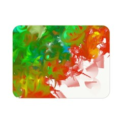 Digitally Painted Messy Paint Background Textur Double Sided Flano Blanket (mini)  by Nexatart