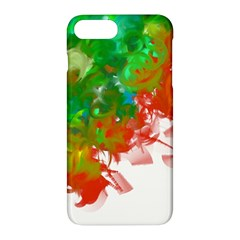 Digitally Painted Messy Paint Background Textur Apple Iphone 7 Plus Hardshell Case