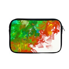 Digitally Painted Messy Paint Background Textur Apple Macbook Pro 13  Zipper Case by Nexatart