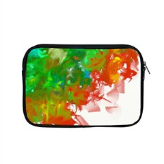 Digitally Painted Messy Paint Background Textur Apple Macbook Pro 15  Zipper Case by Nexatart