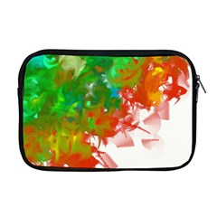 Digitally Painted Messy Paint Background Textur Apple Macbook Pro 17  Zipper Case by Nexatart