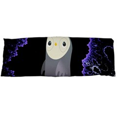 Fractal Image With Penguin Drawing Body Pillow Case Dakimakura (two Sides) by Nexatart