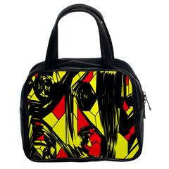 Easy Colors Abstract Pattern Classic Handbags (2 Sides) by Nexatart