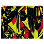 Easy Colors Abstract Pattern Cosmetic Bag (XXXL)  Back