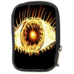 Flame Eye Burning Hot Eye Illustration Compact Camera Cases by Nexatart
