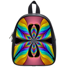 Fractal Butterfly School Bags (small)  by Nexatart
