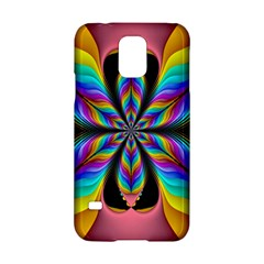 Fractal Butterfly Samsung Galaxy S5 Hardshell Case
