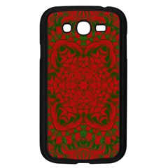 Christmas Kaleidoscope Samsung Galaxy Grand Duos I9082 Case (black)