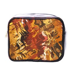 Abstraction Abstract Pattern Mini Toiletries Bags