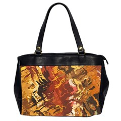 Abstraction Abstract Pattern Office Handbags (2 Sides)  by Nexatart