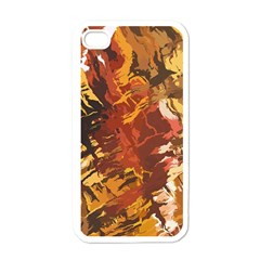 Abstraction Abstract Pattern Apple Iphone 4 Case (white) by Nexatart