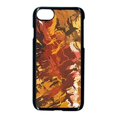 Abstraction Abstract Pattern Apple Iphone 7 Seamless Case (black)