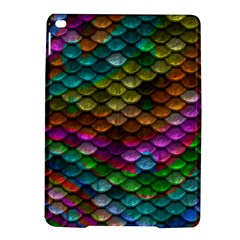 Fish Scales Pattern Background In Rainbow Colors Wallpaper Ipad Air 2 Hardshell Cases by Nexatart