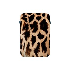 Giraffe Texture Yellow And Brown Spots On Giraffe Skin Apple Ipad Mini Protective Soft Cases by Nexatart