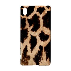 Giraffe Texture Yellow And Brown Spots On Giraffe Skin Sony Xperia Z3+ by Nexatart