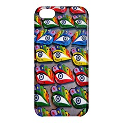 The Eye Of Osiris As Seen On Mediterranean Fishing Boats For Good Luck Apple Iphone 5c Hardshell Case by Nexatart