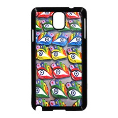The Eye Of Osiris As Seen On Mediterranean Fishing Boats For Good Luck Samsung Galaxy Note 3 Neo Hardshell Case (black)