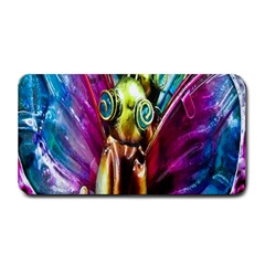 Magic Butterfly Art In Glass Medium Bar Mats