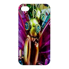 Magic Butterfly Art In Glass Apple Iphone 4/4s Premium Hardshell Case