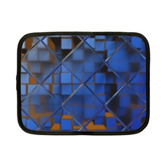 Glass Abstract Art Pattern Netbook Case (small)  by Nexatart