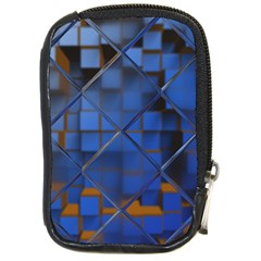 Glass Abstract Art Pattern Compact Camera Cases by Nexatart