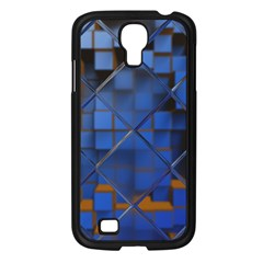 Glass Abstract Art Pattern Samsung Galaxy S4 I9500/ I9505 Case (black) by Nexatart