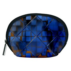 Glass Abstract Art Pattern Accessory Pouches (medium)