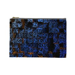 Background Abstract Art Pattern Cosmetic Bag (large)  by Nexatart