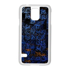 Background Abstract Art Pattern Samsung Galaxy S5 Case (white)