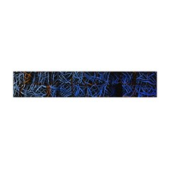 Background Abstract Art Pattern Flano Scarf (mini) by Nexatart