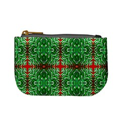 Geometric Seamless Pattern Digital Computer Graphic Mini Coin Purses by Nexatart