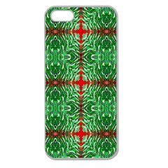 Geometric Seamless Pattern Digital Computer Graphic Apple Seamless Iphone 5 Case (clear)