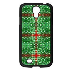 Geometric Seamless Pattern Digital Computer Graphic Samsung Galaxy S4 I9500/ I9505 Case (black) by Nexatart