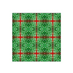 Geometric Seamless Pattern Digital Computer Graphic Satin Bandana Scarf