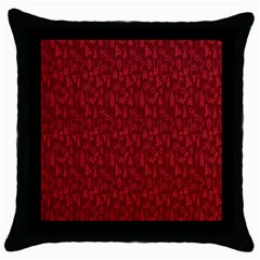 Bicycle Guitar Casual Car Red Throw Pillow Case (black)