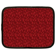 Bicycle Guitar Casual Car Red Netbook Case (xxl)  by Mariart