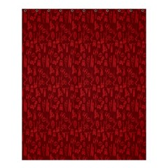 Bicycle Guitar Casual Car Red Shower Curtain 60  X 72  (medium)  by Mariart