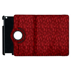 Bicycle Guitar Casual Car Red Apple Ipad 2 Flip 360 Case by Mariart