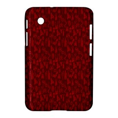 Bicycle Guitar Casual Car Red Samsung Galaxy Tab 2 (7 ) P3100 Hardshell Case  by Mariart
