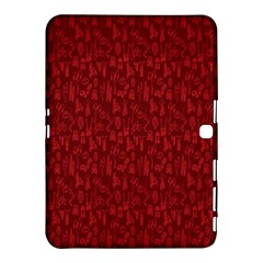 Bicycle Guitar Casual Car Red Samsung Galaxy Tab 4 (10 1 ) Hardshell Case  by Mariart