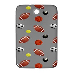 Balltiled Grey Ball Tennis Football Basketball Billiards Samsung Galaxy Note 8 0 N5100 Hardshell Case  by Mariart