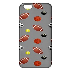 Balltiled Grey Ball Tennis Football Basketball Billiards Iphone 6 Plus/6s Plus Tpu Case by Mariart