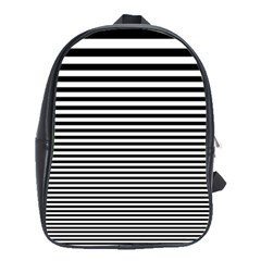 Black White Line School Bags(large)
