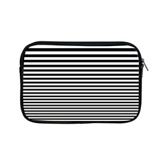 Black White Line Apple Ipad Mini Zipper Cases by Mariart