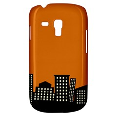City Building Orange Galaxy S3 Mini by Mariart