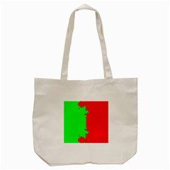 Critical Points Line Circle Red Green Tote Bag (cream) by Mariart