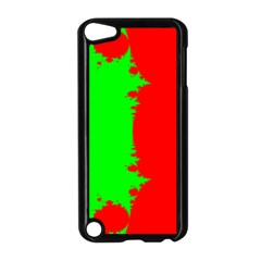Critical Points Line Circle Red Green Apple Ipod Touch 5 Case (black) by Mariart