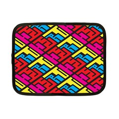 Color Red Yellow Blue Graffiti Netbook Case (small)  by Mariart