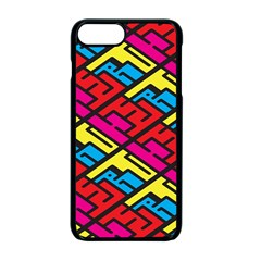 Color Red Yellow Blue Graffiti Apple Iphone 7 Plus Seamless Case (black) by Mariart