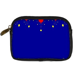 Critical Points Line Circle Red Blue Yellow Digital Camera Cases by Mariart
